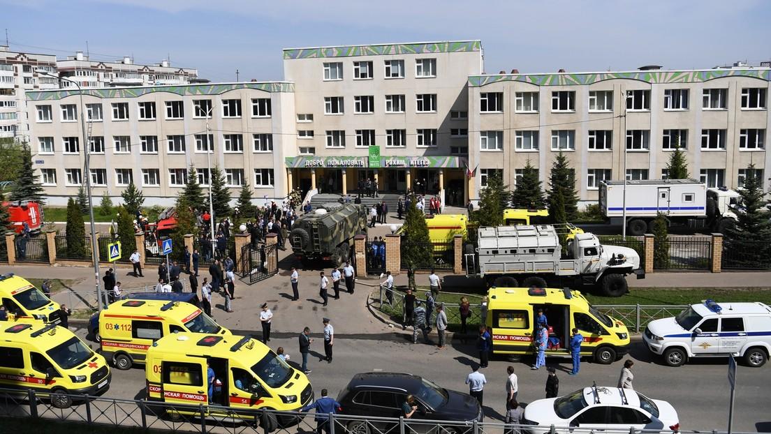 Tödliche Schießerei in Tatarstan: mehrere Kinder mit schweren Verletzungen im Krankenhaus