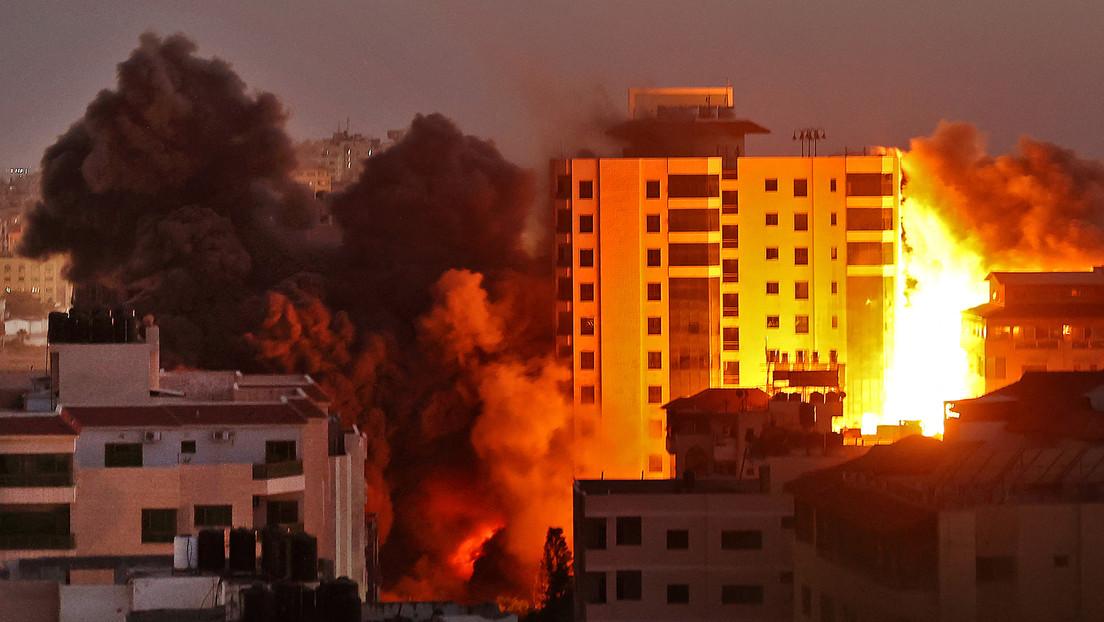 """Ungelöster Jahrhundertkonflikt: """"Bürgerkrieg"""" in Lod – schwere Luftangriffe auf Gaza-Stadt"""