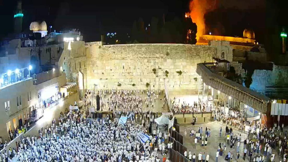 Wirbel um jubelnde Israelis während Brand auf Tempelberg