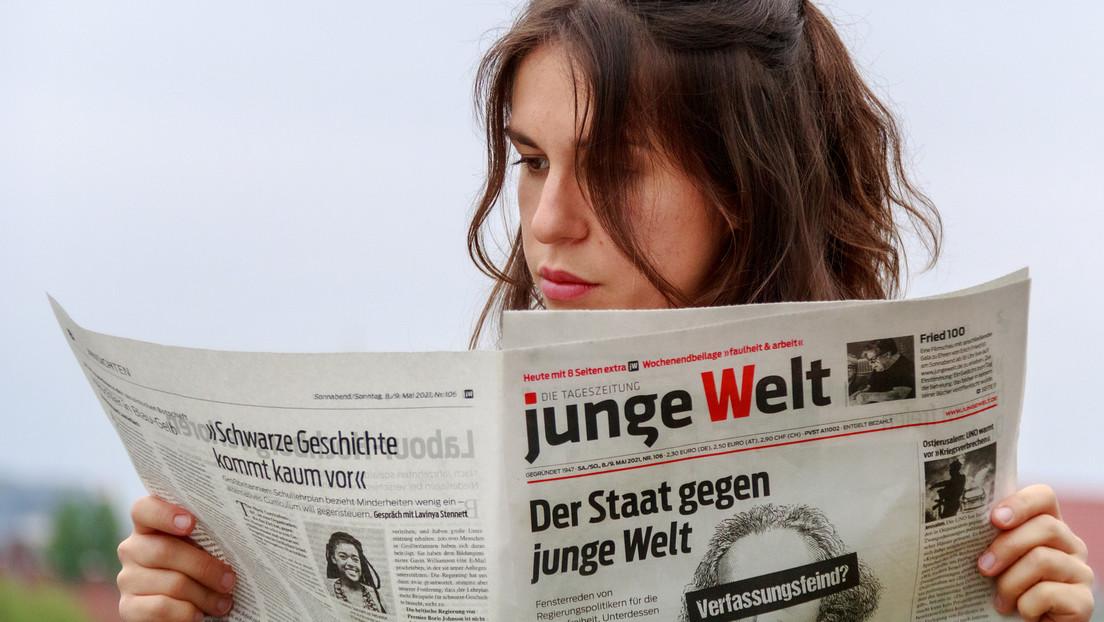 """Junge Welt-Chefredakteur zum Thema Pressefreiheit: """"Ein ungeheures Maß an Heuchelei"""""""
