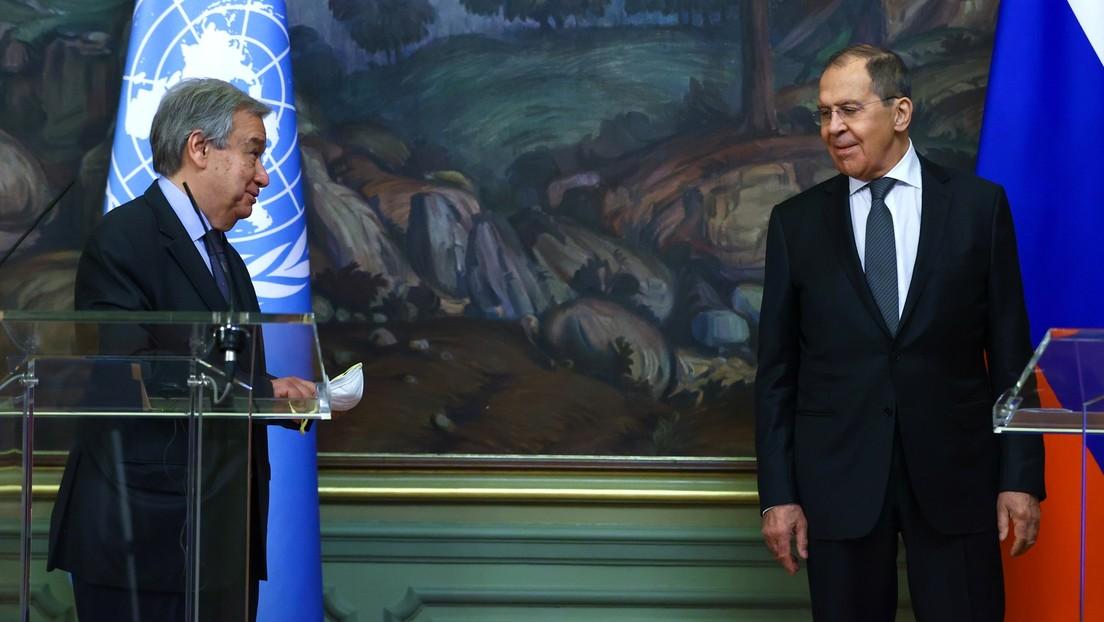 UN-Generalsekretär António Guterres dankt Russland für Entwicklung von Sputnik V