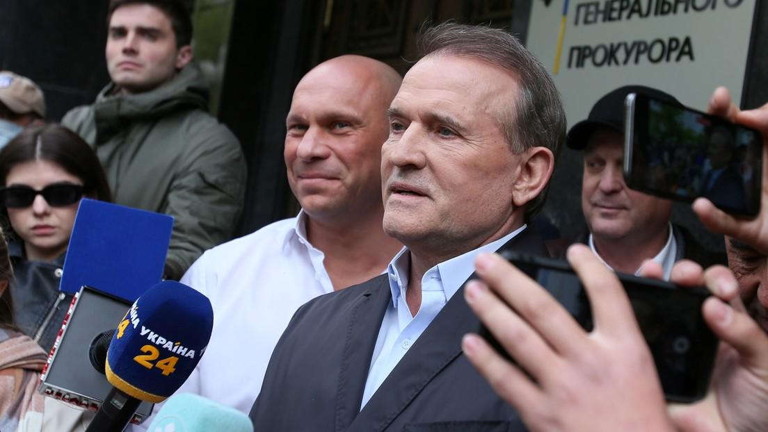 Ukraine: Oppositionsführer Medwedtschuk des Landesverrats beschuldigt