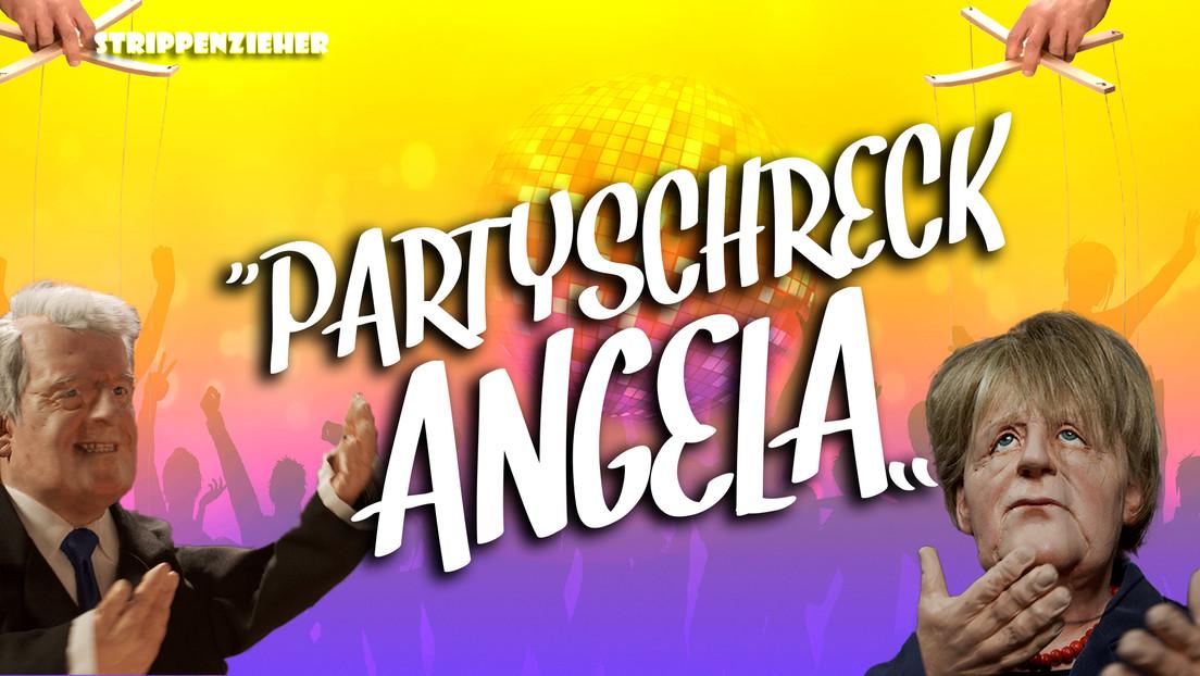 Angela, der Partyschreck | Die Kanzlerin versaut es aber auch jedem | Strippenzieher
