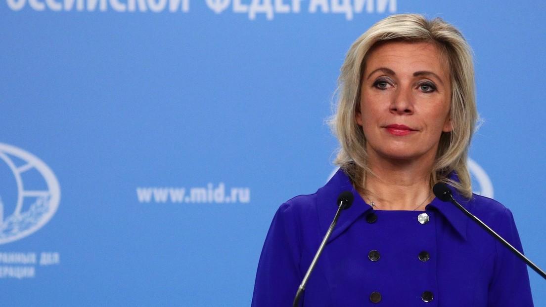 """Maria Sacharowa: """"Russland ist vom deutschen Vorsitz im Ministerkomitee des Europarates enttäuscht"""""""