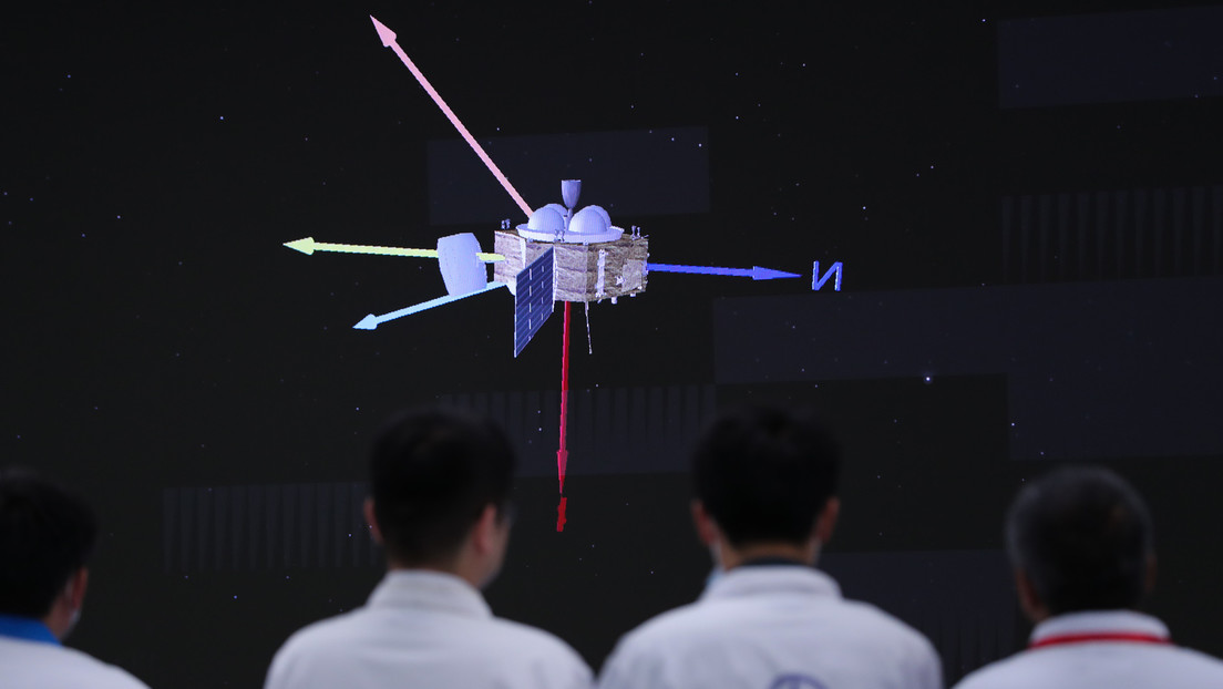 """Chinesischer Rover """"Zhurong"""" landet erfolgreich auf Mars"""