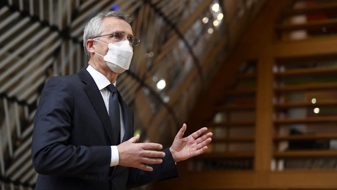 Beim Kirchentag in Frankfurt: NATO-Generalsekretär Stoltenberg setzt auf militärische Abschreckung