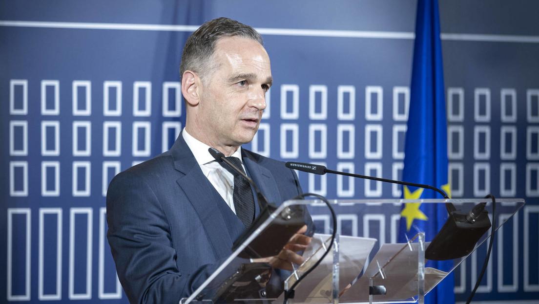 """Außenminister Heiko Maas kritisiert """"Impfstoffnationalismus"""""""