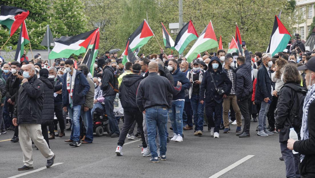Demonstrationen zum Nahost-Konflikt in Deutschland – Gewalt bei Protesten in Berlin
