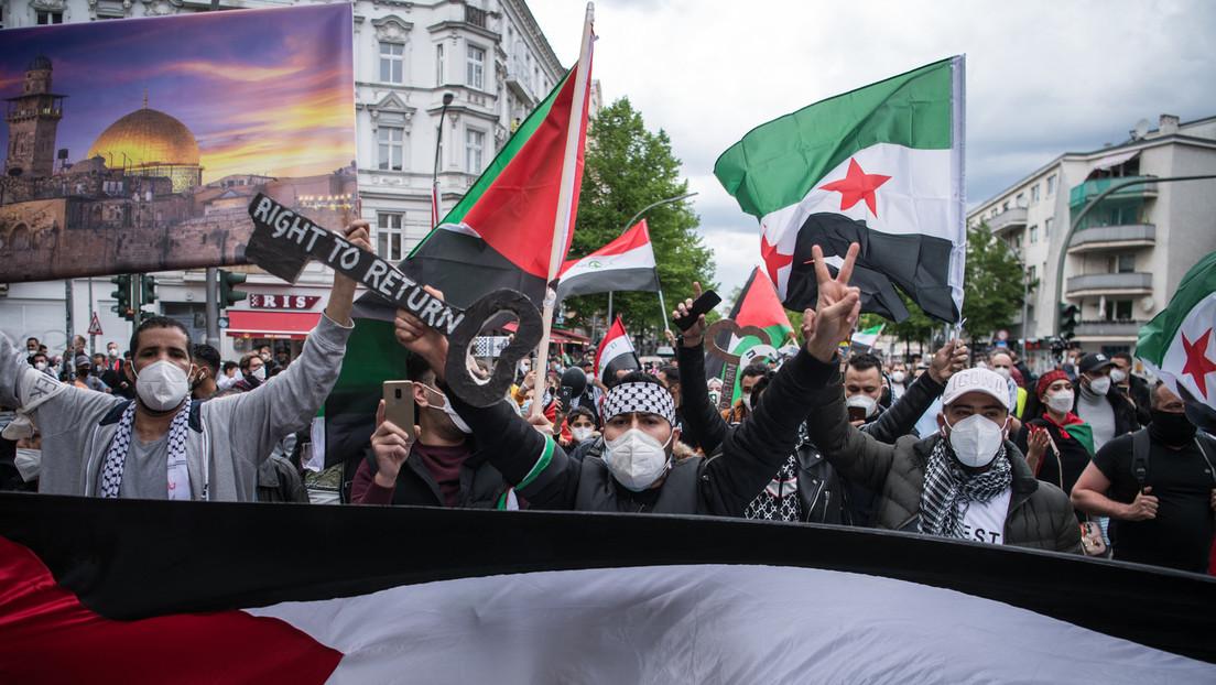 """""""Antisemitismus"""": Horst Seehofer droht nach Ausschreitungen bei Protesten gegen Israel mit Strafen"""