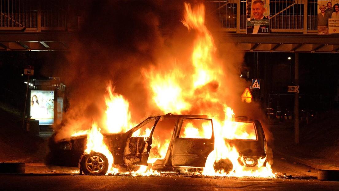 Koordinierte Aktion: Brandlegung als Rache von Bandenkriminellen in schwedischer Kleinstadt