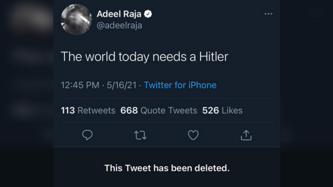 """CNN-Mitarbeiter zum Nahostkonflikt: """"Die heutige Welt braucht einen Hitler"""""""