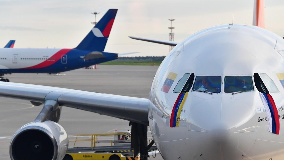 Zwei Flüge pro Monat: Russland und Venezuela nehmen direkte Flugverbindung auf