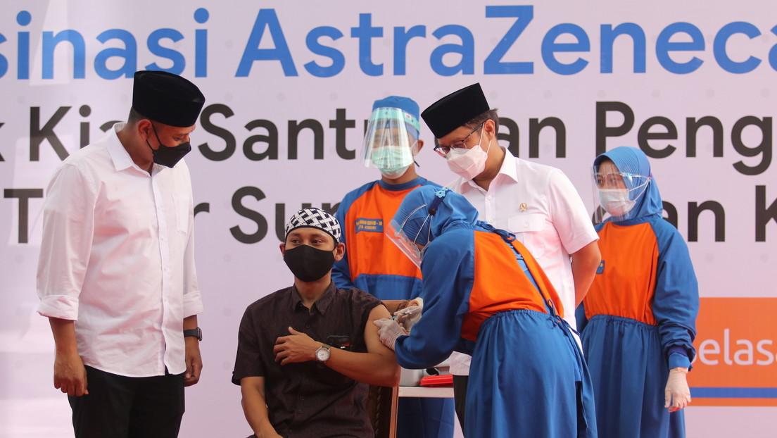 """Indonesien stoppt Verabreichung einer AstraZeneca-Charge – """"Sterilitäts- und Toxizitätstests"""" folgen"""