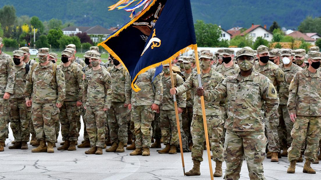 """""""Schön zu sehen"""": Hunderte US-Soldaten zum NATO-Training in Bosnien-Herzegowina eingetroffen"""