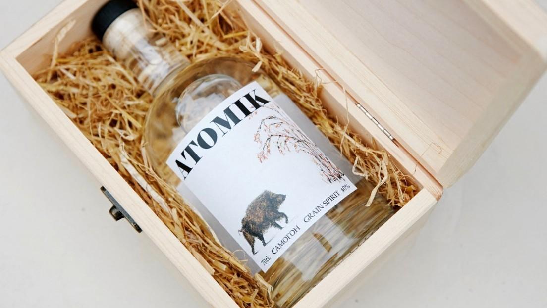 Ukraine beschlagnahmt von Wissenschaftlern produzierten Wodka aus Tschernobyl