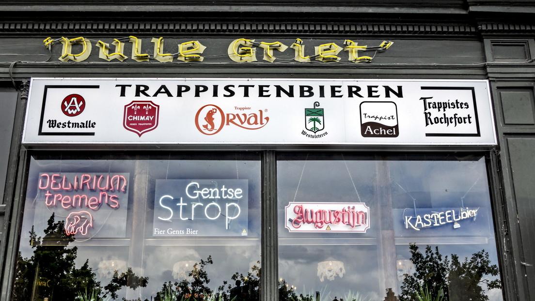 Belgische Mönche, die Trappistenbier brauen, verteidigten ihr Recht auf Quellwasser vor Gericht