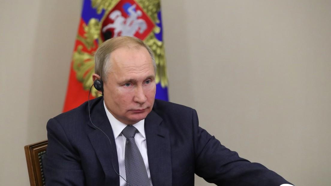 Putin und Xi Jinping nehmen an Zeremonie zum Baubeginn einer Atomanlage teil