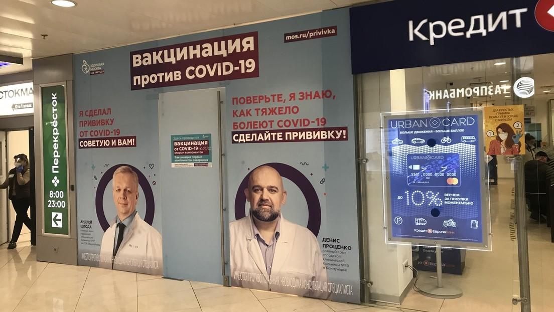 """Umfrage: Fast die Hälfte der Russen will """"unter keinen Umständen"""" gegen COVID-19 geimpft werden"""