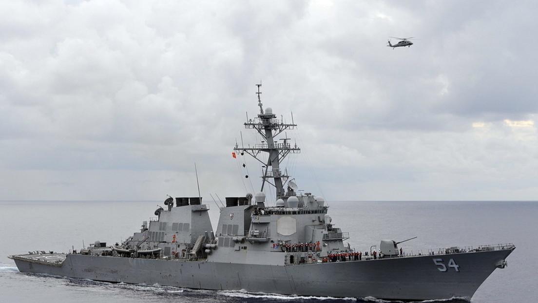 """""""Absichtliche Störung des Friedens"""": Peking empört über US-Kriegsschiff in chinesischen Gewässern"""
