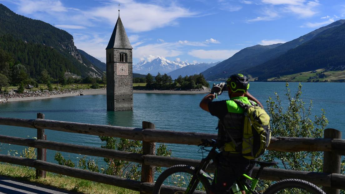Südtirol: Seit 70 Jahren geflutetes Dorf bei Wartungsarbeiten an Speicherkraftwerk wieder freigelegt