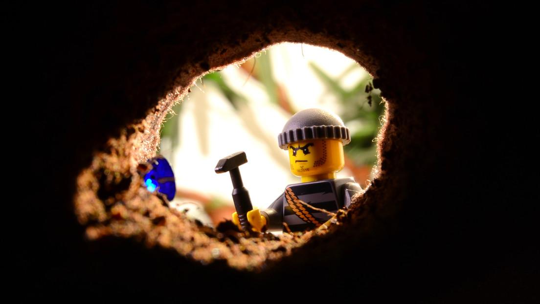 Tunnel eingestürzt: Das Ende eines versuchten Bankraubes in Spenge/Westfalen