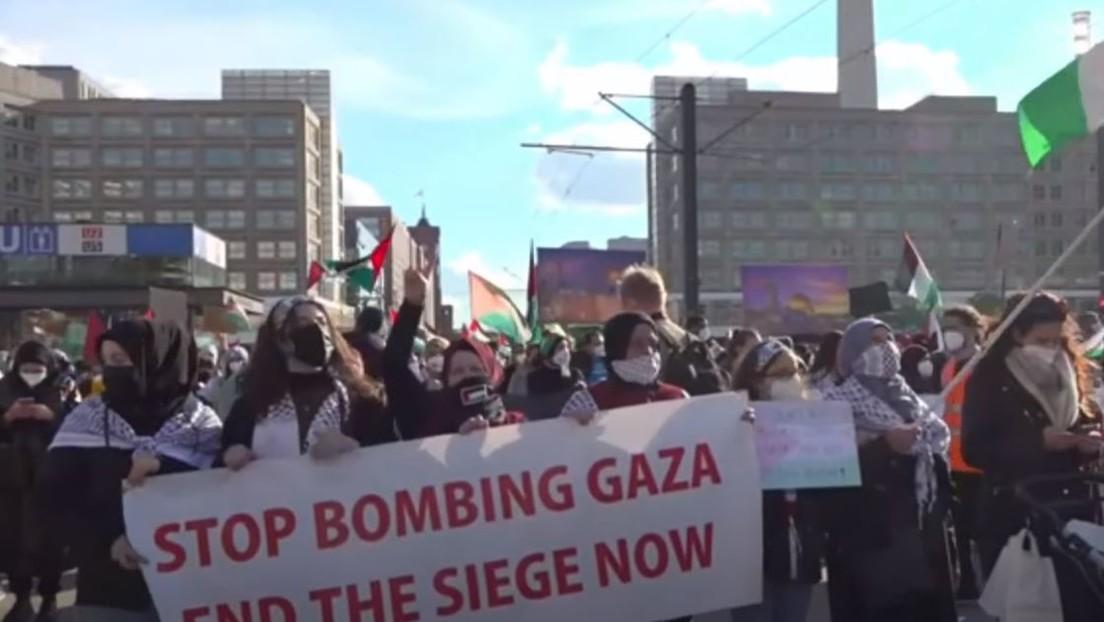 LIVE: Pro-Palästina-Demo in Berlin