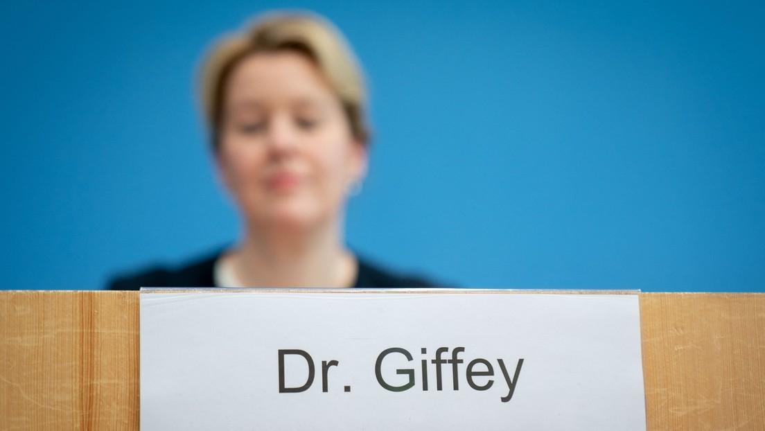 Nach Rücktritt als Familienministerin: Giffey steht üppiges Übergangsgeld zu