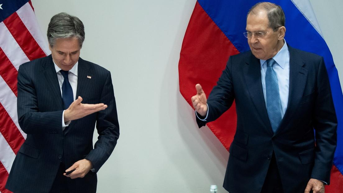 Lawrow nach Treffen mit Blinken: Russland zu Dialog über strategische Stabilität bereit