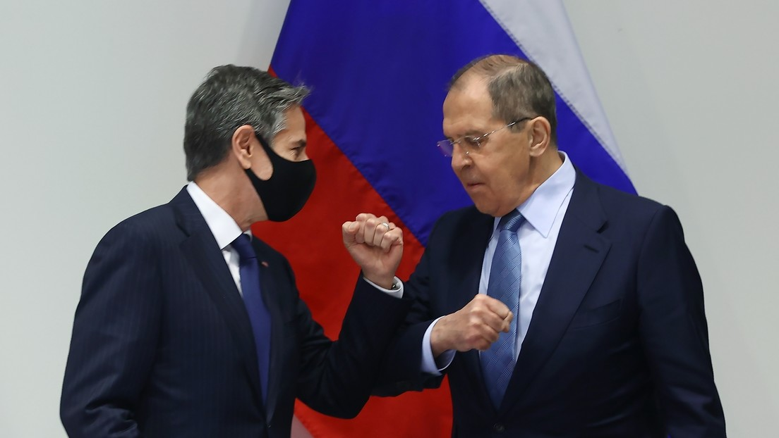 Biden verzichtet wenige Stunden vor Außenministertreffen auf Schlüsselsanktionen gegen Nord Stream 2