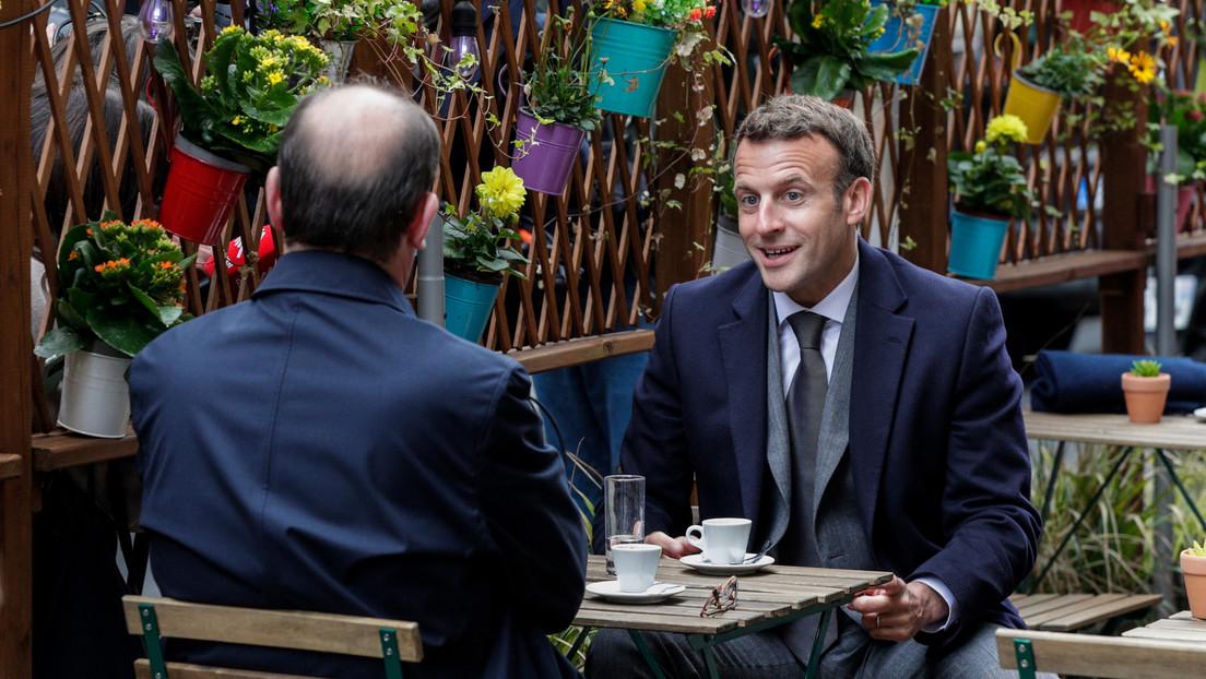 """Zurück zur """"neuen Normalität"""": Macron feiert """"Wiederentdeckung"""" der französischen Lebensart"""