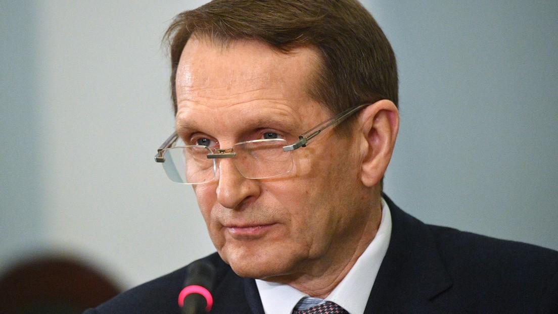 Russischer Auslandsgeheimdienst-Chef: Fehlende EU-Genehmigung für Sputnik V politisch motiviert