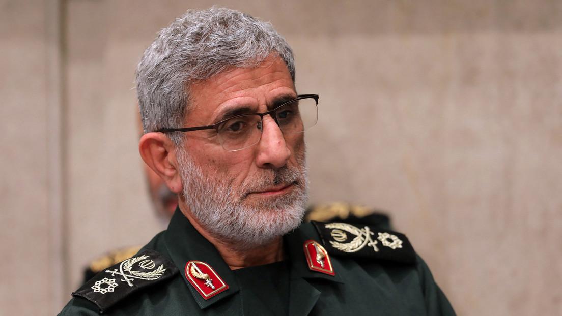 Chef der iranischen Quds-Einheit sichert der Hamas Unterstützung zu