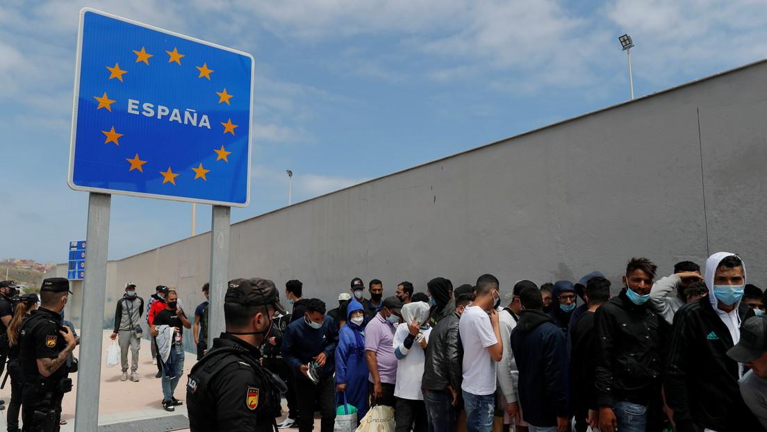 """Spanien warnt Marokko nach Migranten-Krise vor """"Erpressung"""""""