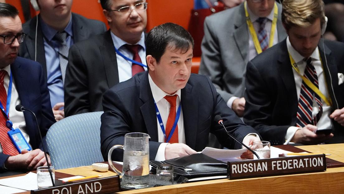 Russlands UN-Gesandter: Moskau für Dringlichkeitssitzung des Nahost-Quartetts