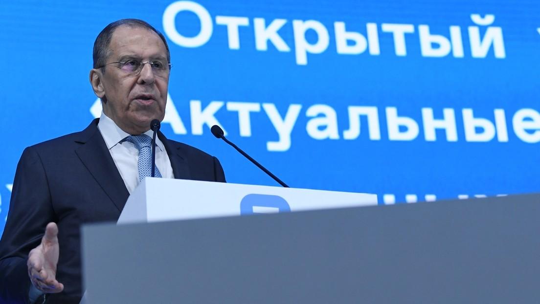 Lawrow: US-Außenminister Blinken legte keine Beweise für Vorwürfe gegen Russland vor