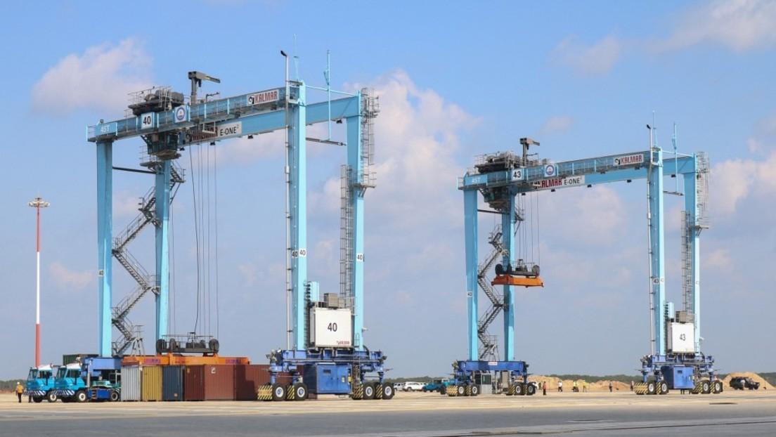 Start eines Megaprojekts: Von chinesischer Firma gebauter Tiefseehafen in Kenia geht in Betrieb