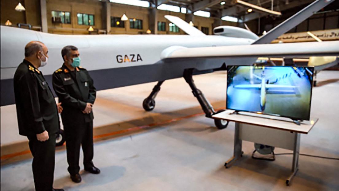 """Iran präsentiert """"Gaza""""-Drohne sowie neue Radar- und Boden-Luft-Raketensysteme"""
