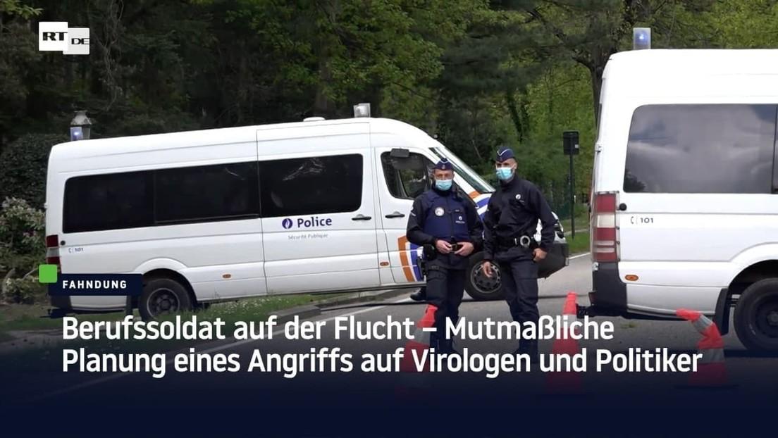 Berufssoldat auf der Flucht – Mutmaßliche Planung eines Angriffs auf Virologen und Politiker