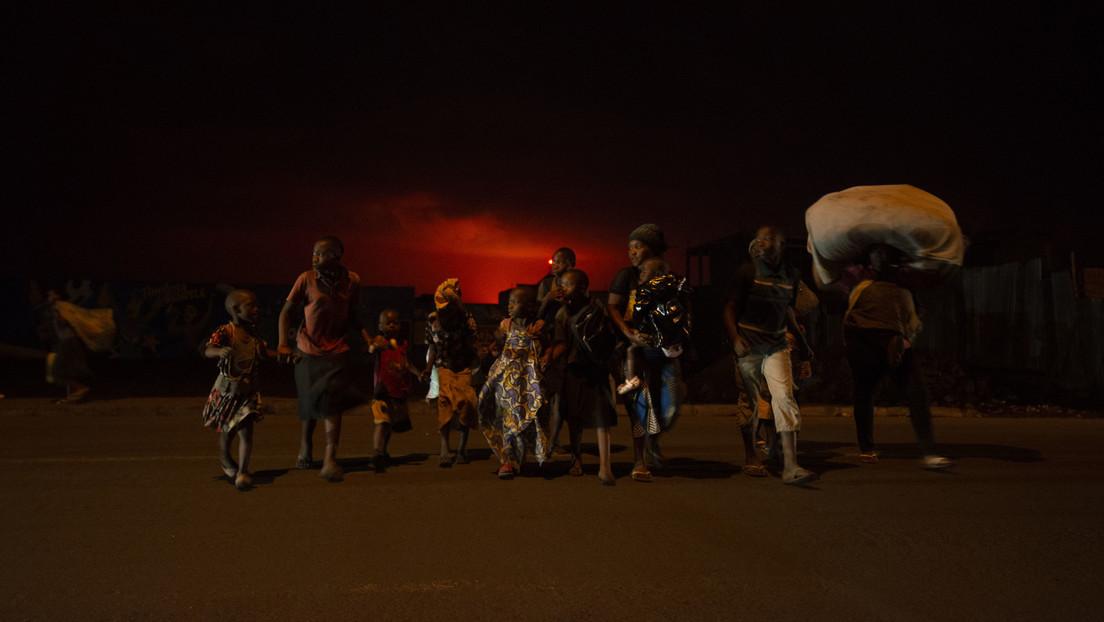 Vulkanausbruch in Kongo löst Panik aus – Ruanda öffnet Grenze für Flüchtlinge