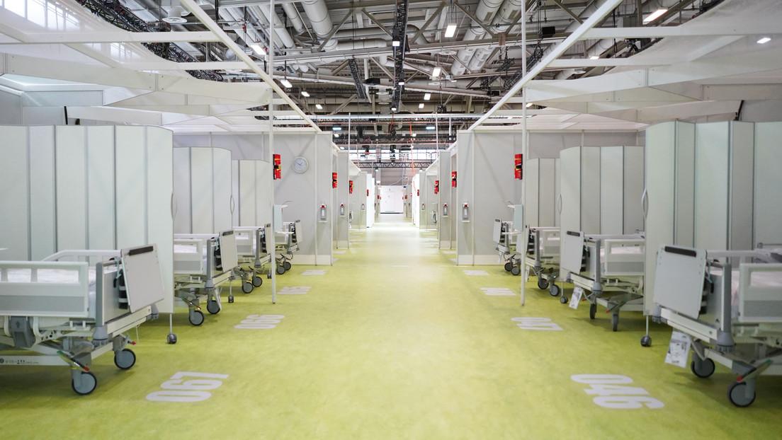 Nie benutzte Corona-Klinik kostete das Land Berlin bislang fast 60 Millionen Euro