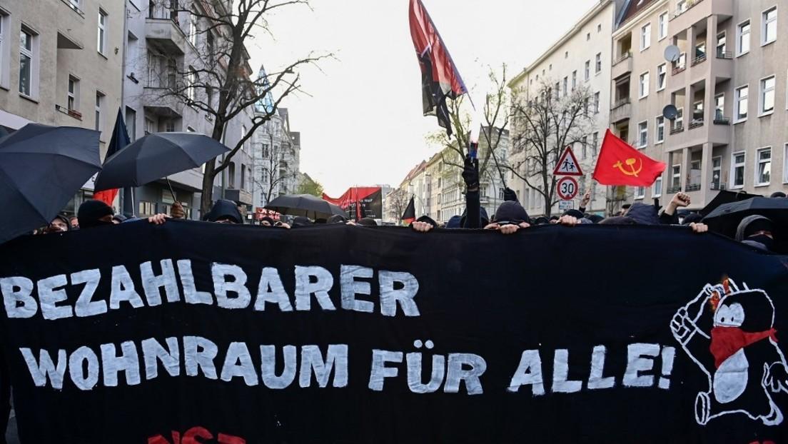 """LIVE von der Demo gegen den """"Mietenwahnsinn"""" in Berlin"""