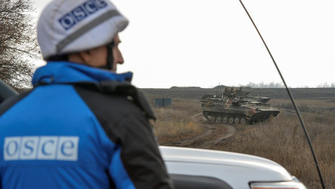 Lugansk wirft Kiew elektronische Kriegsführung gegen OSZE-Drohnen vor