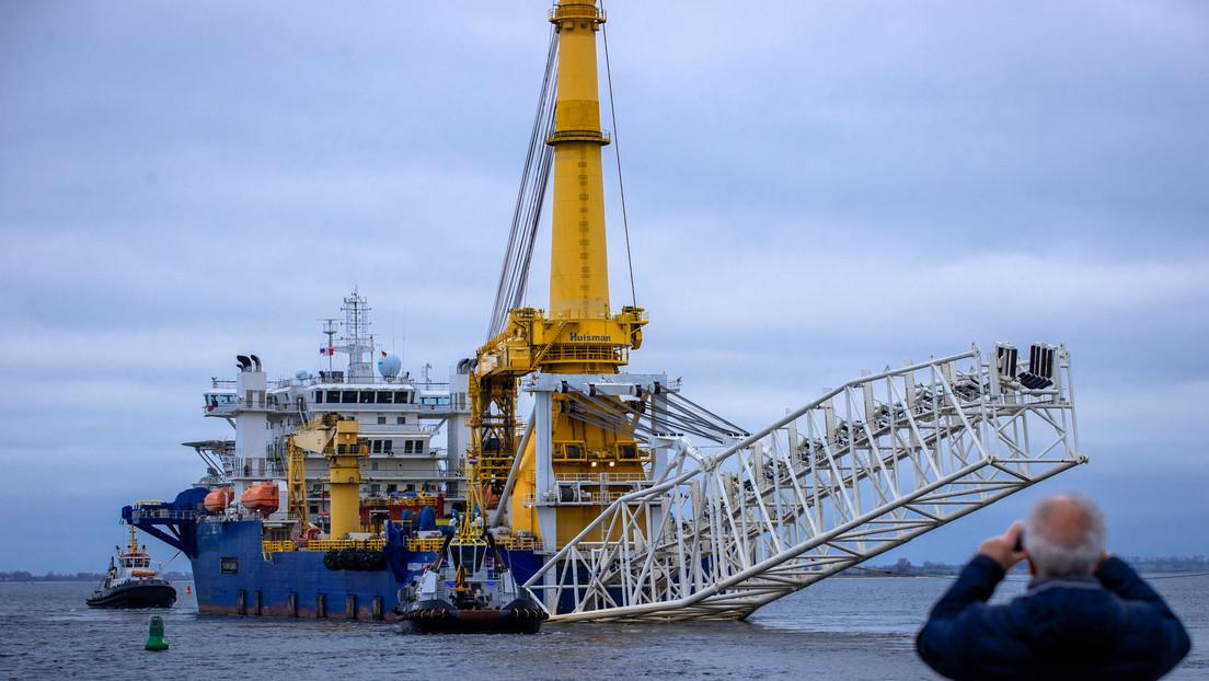 Arbeiten an Nord Stream 2 in der Ostsee laufen weiter
