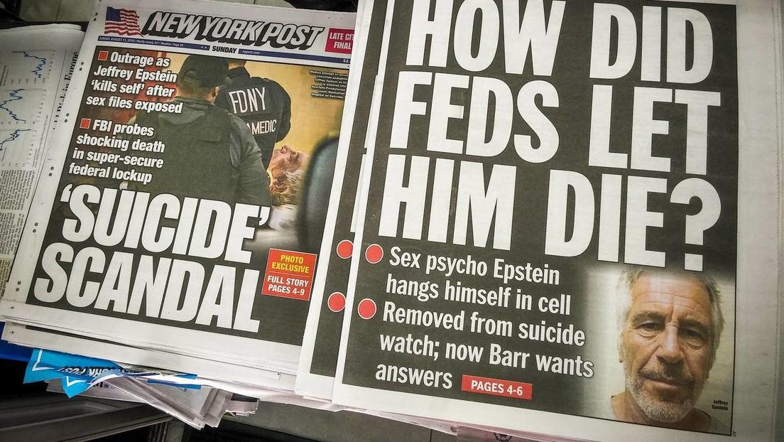 """Epstein-""""Selbstmord"""": Gefängniswärter müssen nicht mit Haftstrafe rechnen"""