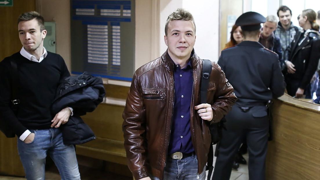 """""""Absolut inakzeptabel"""": Berlin und EU verurteilen Festnahme von weißrussischem Blogger"""