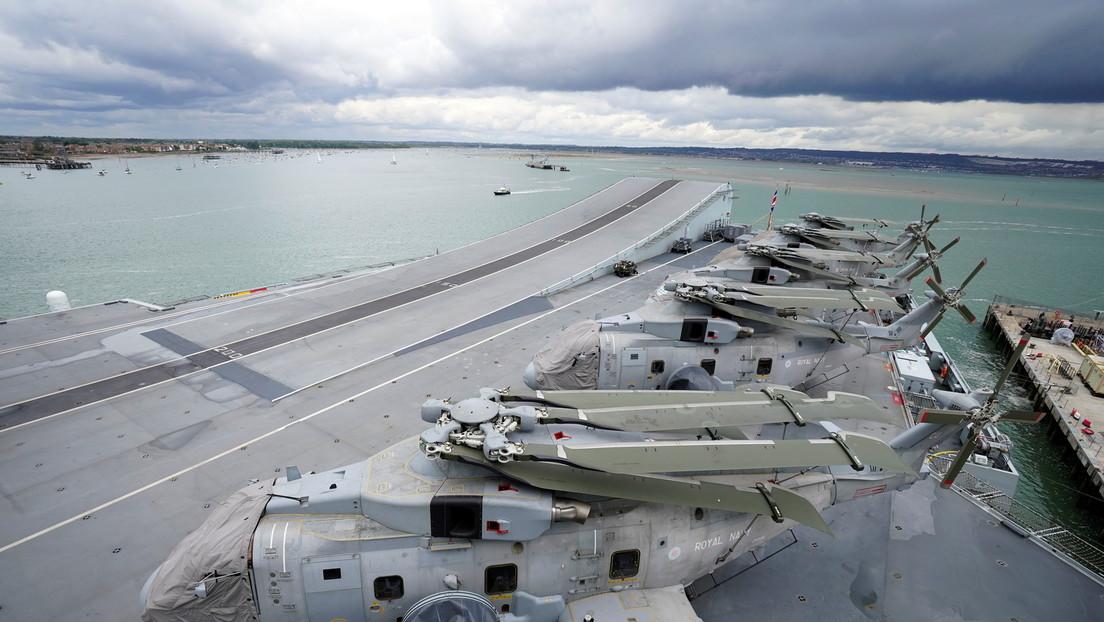 """London rüstet mit neuen Atomwaffen und Kriegsschiffen auf: """"Russland ist Bedrohung Nummer eins"""""""