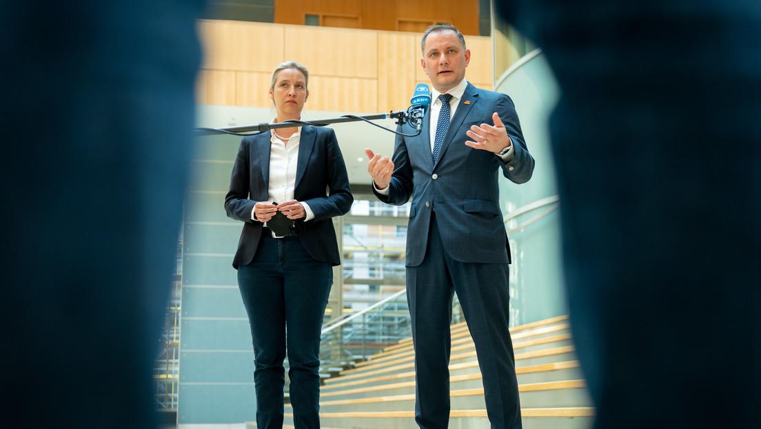 AfD setzt im Bundestagswahlkampf auf Spitzenduo aus Alice Weidel und Tino Chrupalla