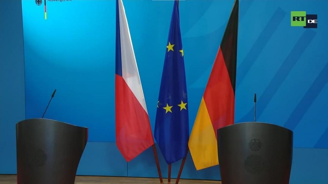 LIVE: Außenminister Heiko Maas trifft seinen tschechischen Amtskollegen Jakub Kulhánek