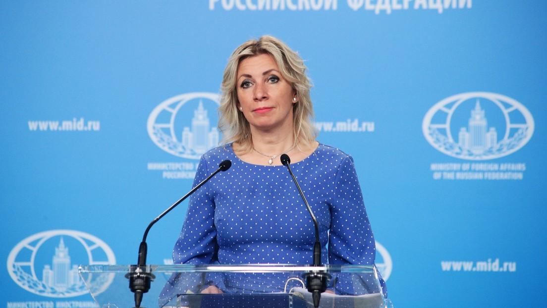 Maria Sacharowa bezeichnet westliche Reaktion auf Ryanair-Zwangslandung in Minsk als Hysterie