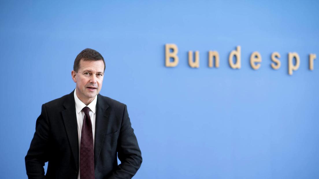 Bundespressekonferenz zu Umgang mit Weißrussland und Corona-Krise